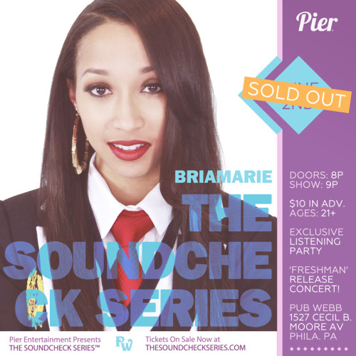 The Soundcheck Series: BriaMarie