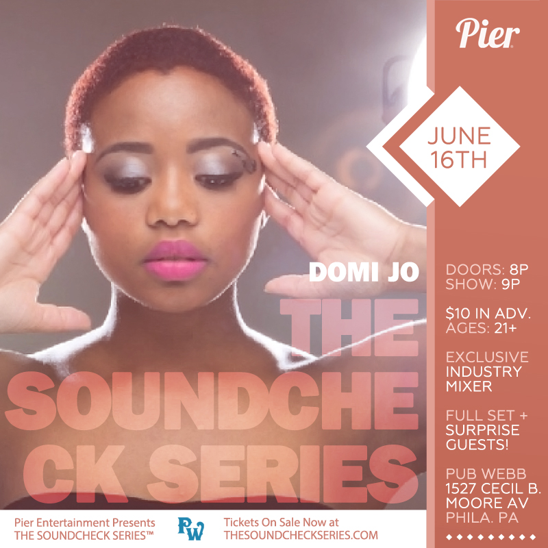 The Soundcheck Series: Domi Jo
