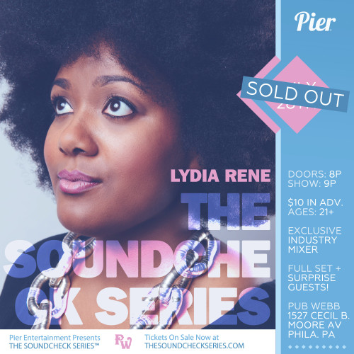 THE SOUNDCHECK SERIES: Lydia Rene