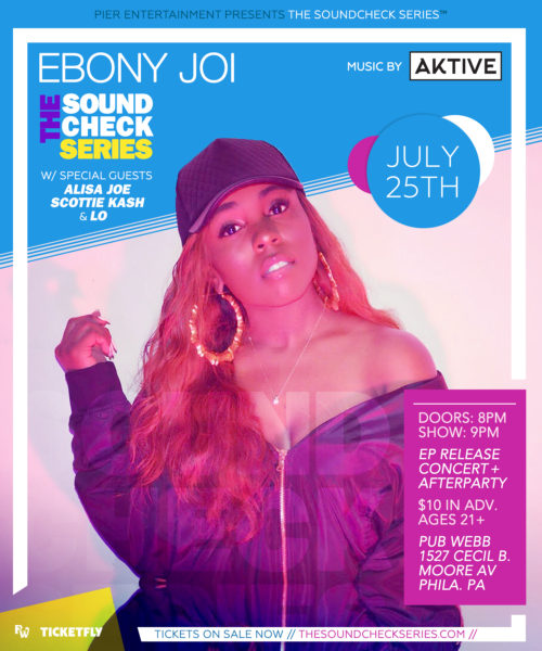 THE SOUNDCHECK SERIES: EBONY JOI