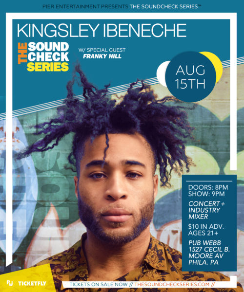THE SOUNDCHECK SERIES: Kingsley Ibeneche