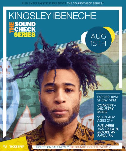 THE SOUNDCHECK SERIES: Kingsley Ibeneche