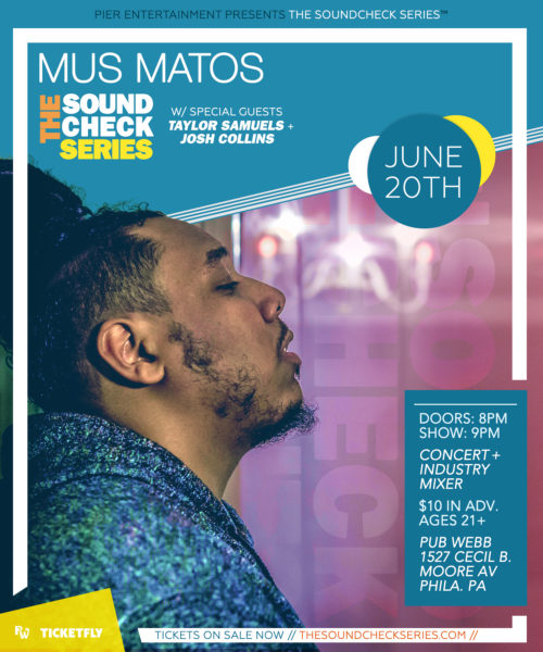 THE SOUNDCHECK SERIES: Mus Matos