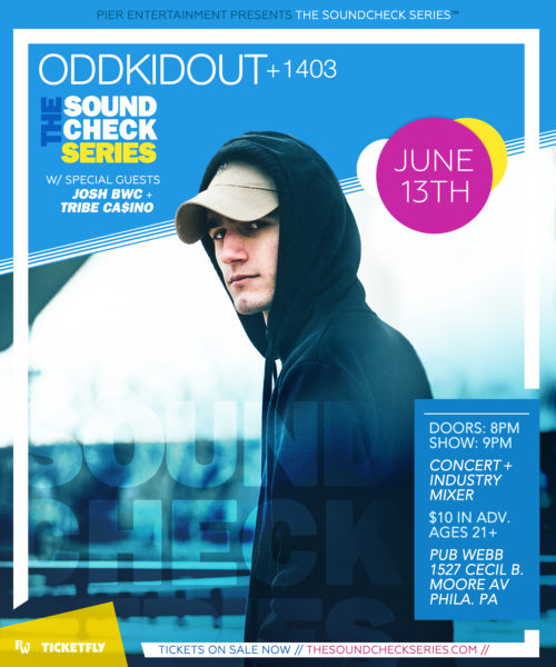 THE SOUNDCHECK SERIES: ODDKIDOUT + 1403