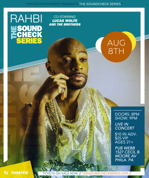 THE SOUNDCHECK SERIES: RAHBI