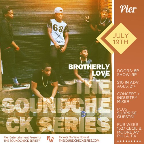 THE SOUNDCHECK SERIES: Brotherly Love
