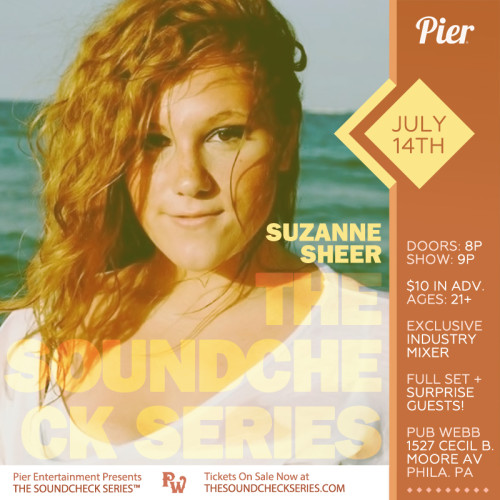 The Soundcheck Series: Suzanne Sheer