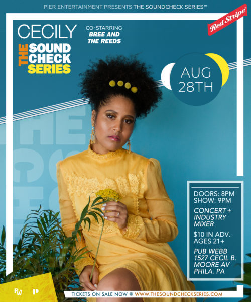 THE SOUNDCHECK SERIES: Cecily