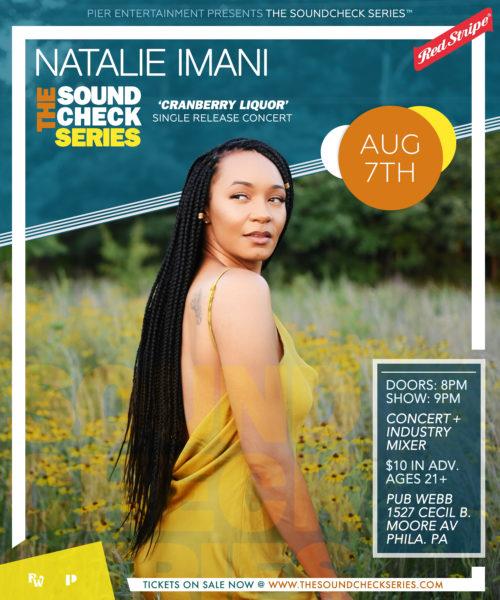 THE SOUNDCHECK SERIES: Natalie Imani