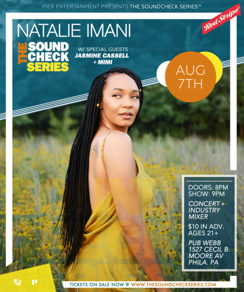 THE SOUNDCHECK SERIES: Natalie Imani