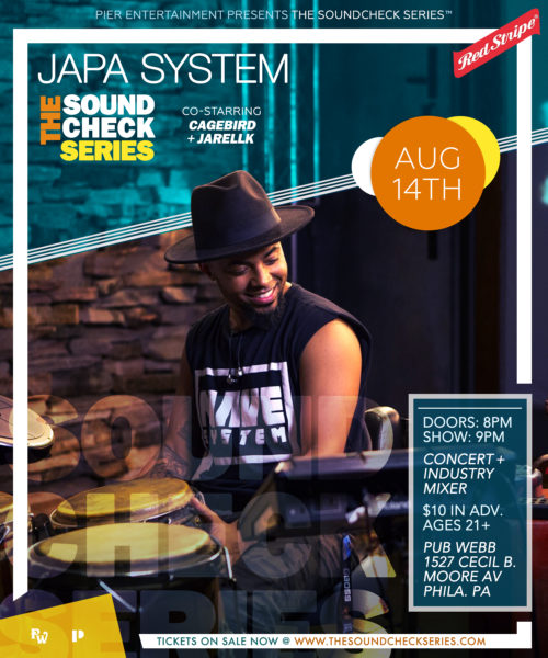 THE SOUNDCHECK SERIES: CAGEBIRD with Japa System & JarellK