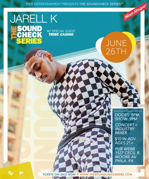 THE SOUNDCHECK SERIES: JarellK