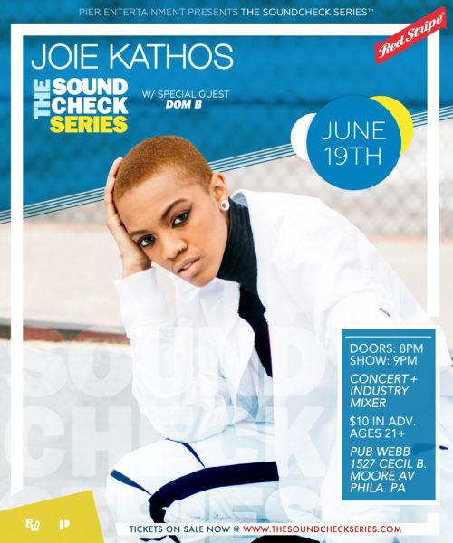 THE SOUNDCHECK SERIES: Joie Kathos