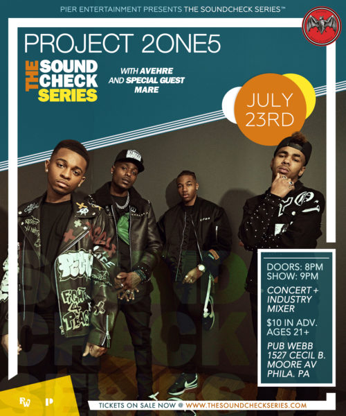 THE SOUNDCHECK SERIES: Project 2ONE5